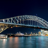 Sydney Harbour Bridge - Night Life 2