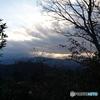 高尾山山頂からの夕焼け