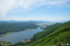木崎湖風景
