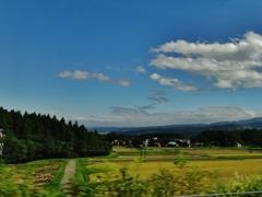 第千五百五十六作  「すつきり晴れて わたしひとりの 秋の風吹く」 新潟県妙高