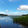 第六百九十四作  「あの空を 映した水面を漕いでゆく」 北海道釧路