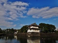 第千二百八十九作  「ふ、と見たやうな 江戸の空を」 東京都千代田