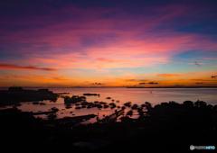 マグタン島の朝