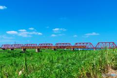 おけいはんと赤い橋 Ⅲ