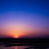 谷中湖の夜明