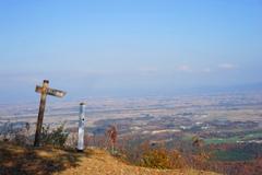 「太平山」見下ろす