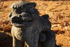 煙岡神社狛犬