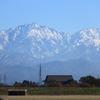 もっと・・寒くなるとクッキリ見える冬の立山剱岳