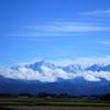 快晴の日の立山連峰