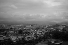 岸和田城天守閣からの眺望