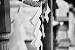 紙垂_2~玉置神社~