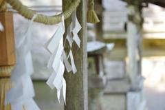 紙垂~玉置神社~