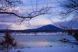 筑波山と雪