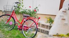 赤い自転車 <2>