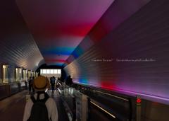 Rainbow-tunnel