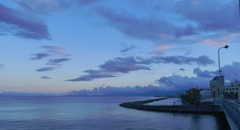 夕刻錦江湾