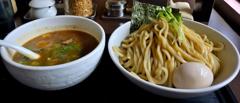 麺屋 六弦 つけ麺大盛+味玉