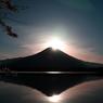 田貫湖ダイヤモント富士