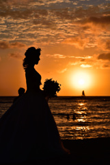 燃える花嫁