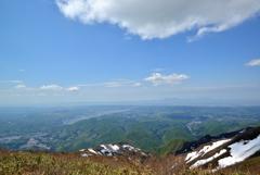 粟ヶ岳山頂からの眺望#2