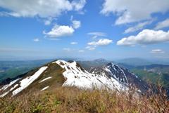 粟ヶ岳山頂からの眺望