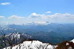 粟ヶ岳山頂からの眺望#3
