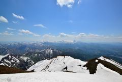 粟ヶ岳山頂からの眺望#4
