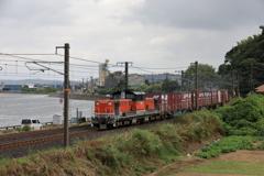 山陰本線迂回貨物 DD51