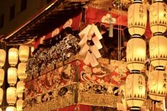 .*・゚暑かった祇園祭.゚・*.