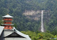 夏那智の滝