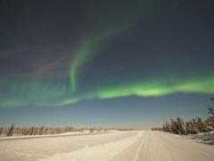 Aurora at Yellowknif, Canada