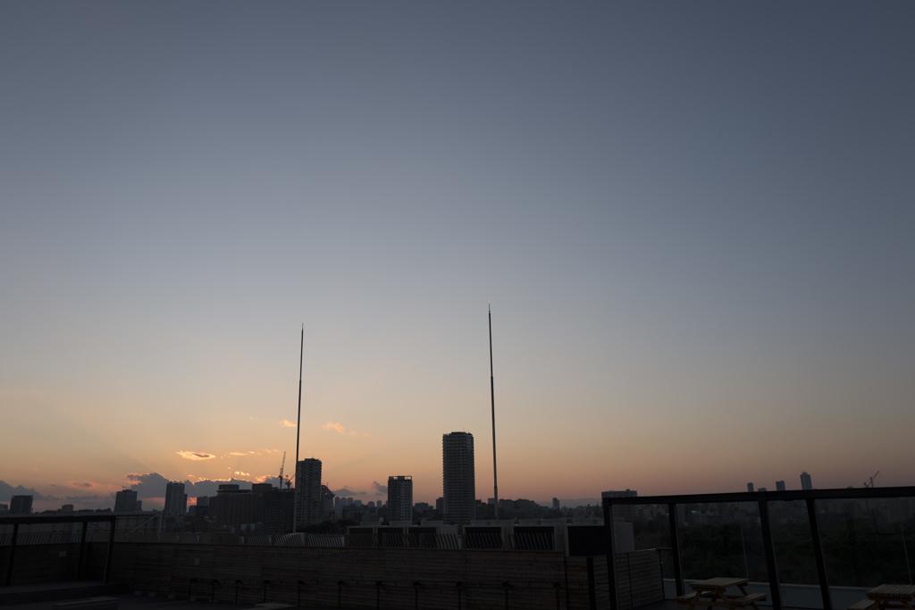 上野 国立科学博物館 テラスから