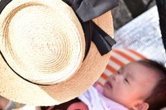 ママの帽子