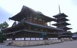 最古の木造建造物 @法隆寺