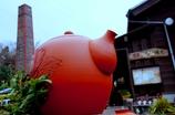 煙突のある風景#1 @常滑焼物散歩道
