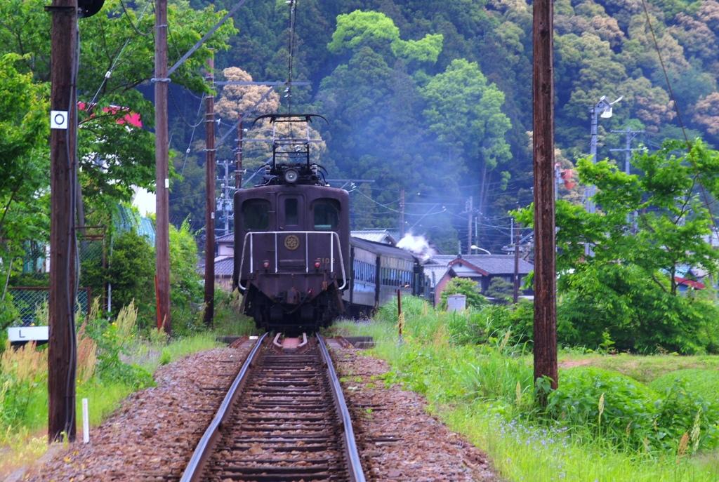 縁の下の力持ち @大井川鉄道