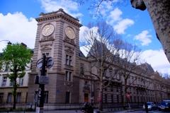パリの街角#2 時計台