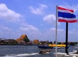 タイの青空と @バンコク