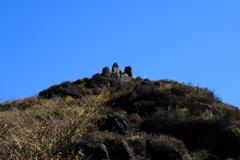 福智山山頂。