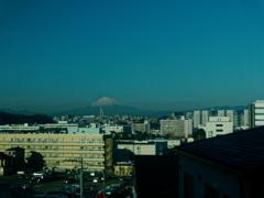湘南モノレール 車窓からの富士山
