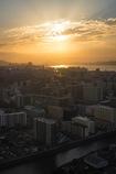 空から見る街