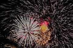 熱田祭りの花火
