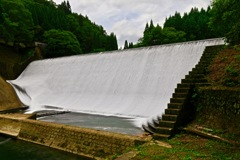 白水溜池堰堤