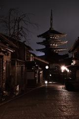 夜の京都..*°