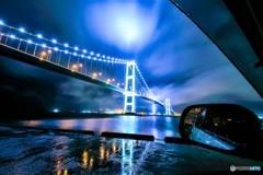 雨上がりの室蘭白鳥大橋