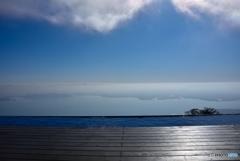 琵琶湖テラスにて2
