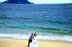 ・・青い海と共に・・