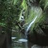 由布川渓谷の流れ