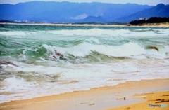 白波 【海を見に行ってきます】