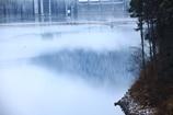 幻想的な・・・ダム湖